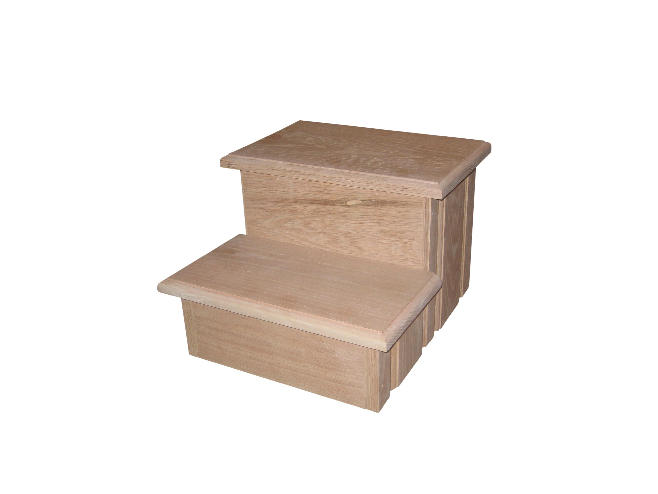 sc 1 st  TheSteppingStool.com & Unfinished Wooden Step Stools for Kids - TheSteppingStool.com islam-shia.org