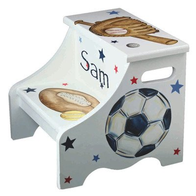 Personalized Step Stool For Children Toddler