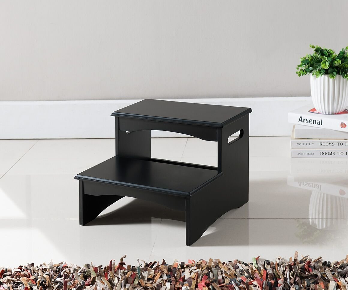 Bedroom Stepping Stool For Adults Black Thesteppingstool Com
