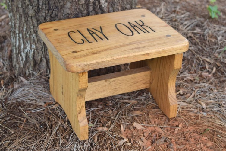 Handmade Personalized Step Stool For Toddlers