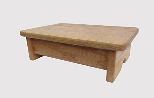 4 inch high wooden step stool