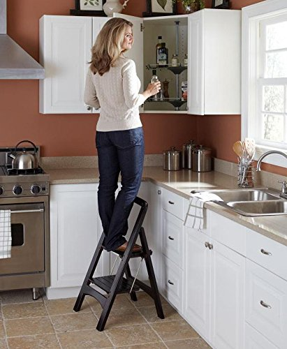 Wooden Step Stools For The Kitchen Thesteppingstool Com
