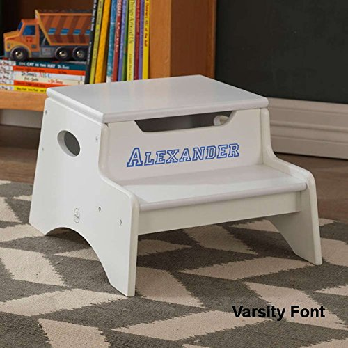 Outstanding Personalized Step Stools For Toddlers Thesteppingstool Com Ibusinesslaw Wood Chair Design Ideas Ibusinesslaworg