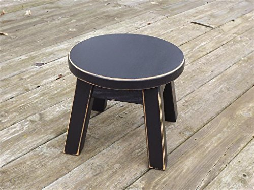 Round Wooden Step Stool Thesteppingstool Com