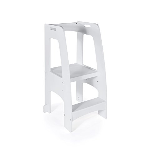 step stool for toddler in kitchen
